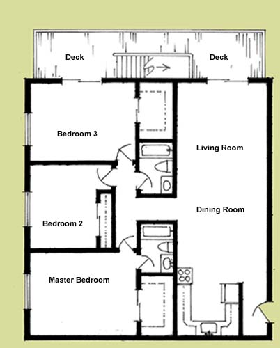 Elliott Apartments Floorplans